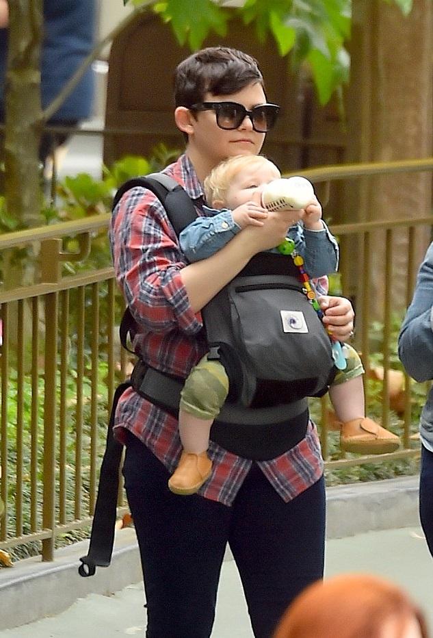 Джиннифер Гудвин с сыном