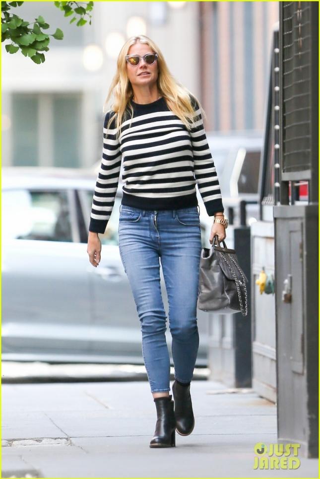Gwyneth Paltrow Arrives In New York City