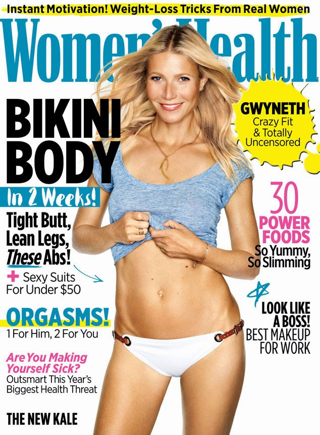 Гвинет Пэлтроу на обложке Women's Health США