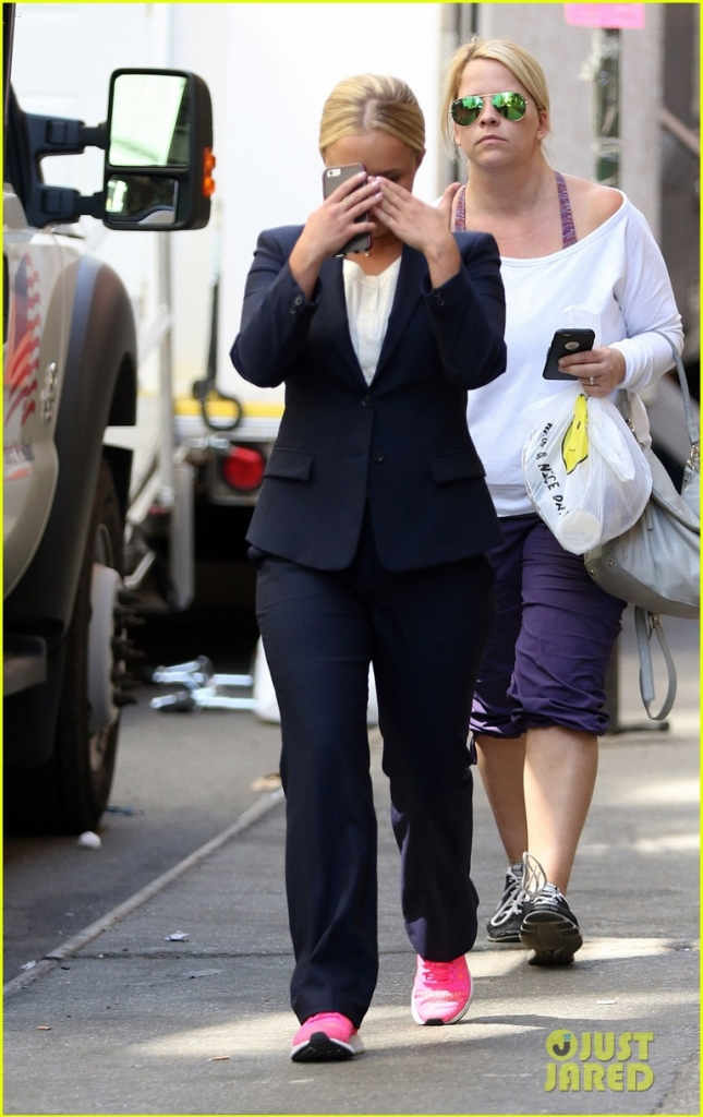 Hayden Panettiere On Set Of 'Custody'