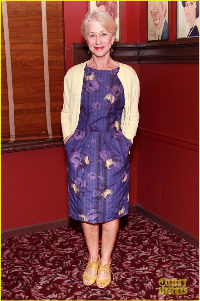 Helen Mirren Sardi's Portrait Unveiling