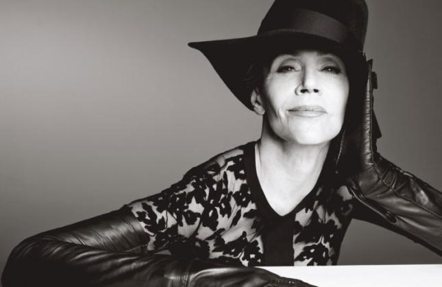 Джейн Фонда для  W magazine, июнь 2015