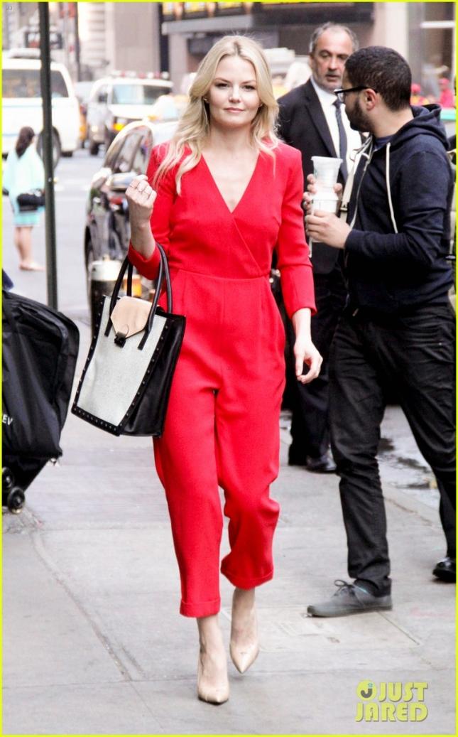 Дженнифер Моррисон прибыла на ток-шоу Good Morning America