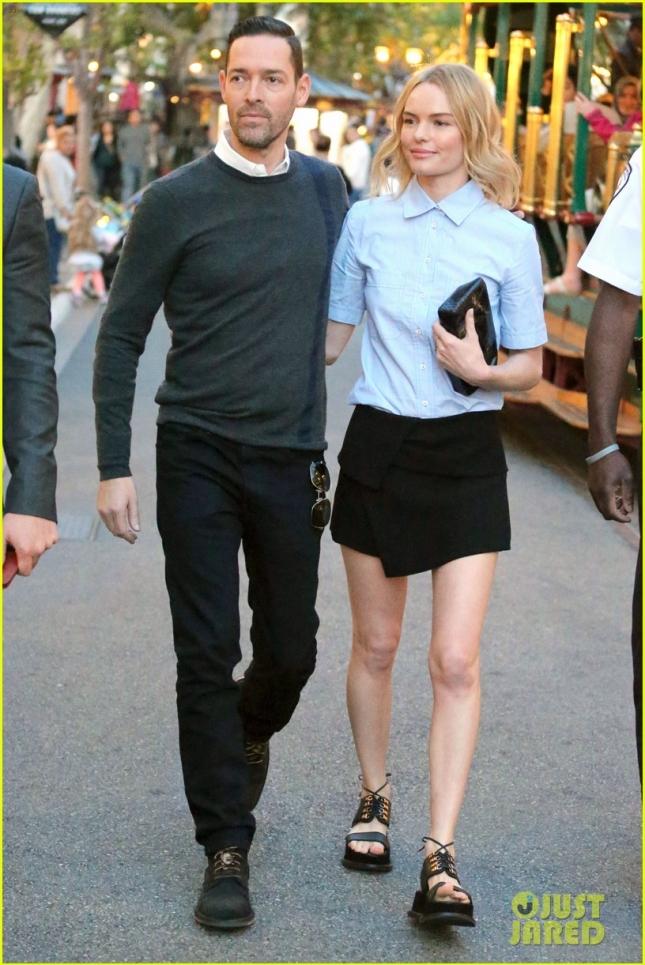 Кейт Босуорт и Майкл Полиш отправились в универмаг Nordstrom, где состоялся ланч бренда Matisse совместно с которым Кейт выпустила коллекцию обуви