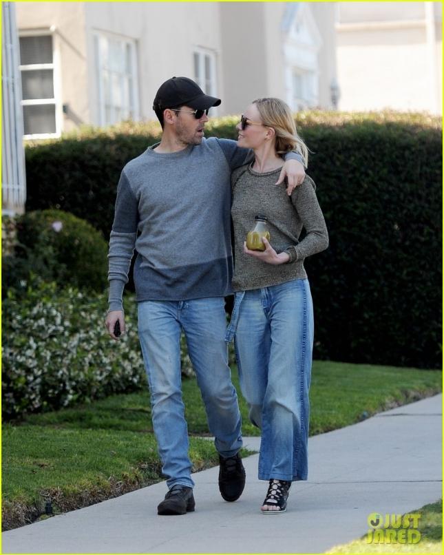 Кейт Босуорт и Майкл Полиш на прогулке по городу