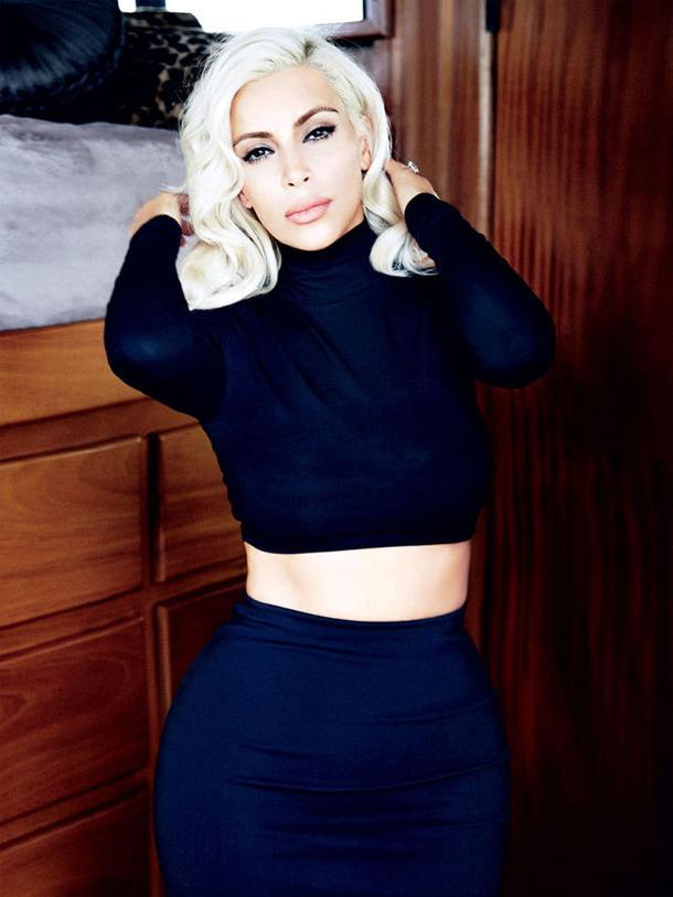 Ким Кардашьян для Vogue Бразилия, июнь 2015