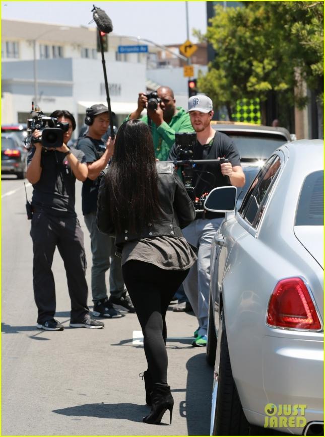 Kim Kardashian Stops By DASH