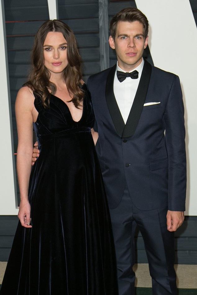 Кира Найтли и Джеймс Райтон Vanity Fair Oscar Party 2015