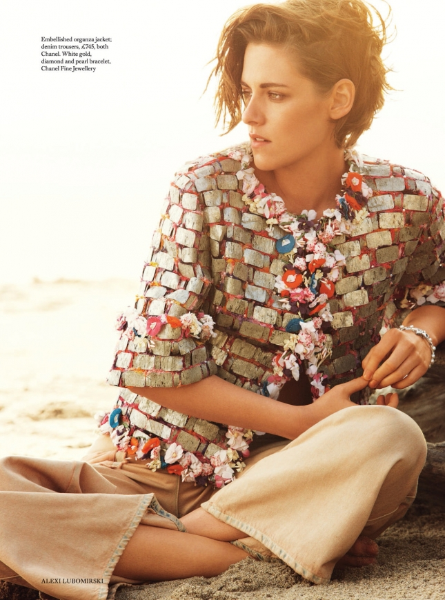 Кристен Стюарт для Harper's Bazaar, июнь 2015