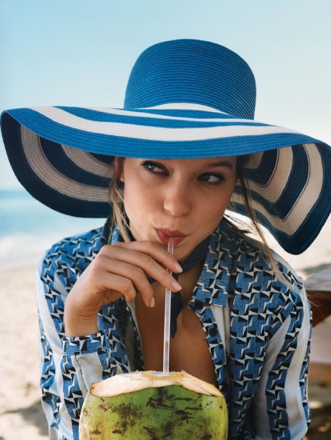 Леа Сейду для Vogue США, июнь 2015