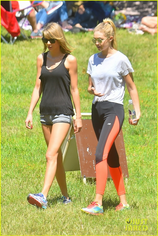 Taylor Swift and Gigi Hadid take in nature together during L.A hike