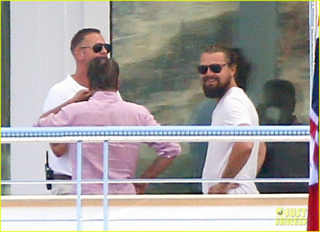 Semi-Exclusive... Leonardo DiCaprio Enjoys A Day Of Yachting In Cannes