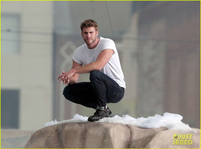 EXCLUSIVE: King of the Mountain Liam Hemsworth is the new face of Diesel's Only The Brave fragrance