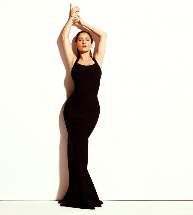 Сальма Хайек в фотосессии для Madame Figaro