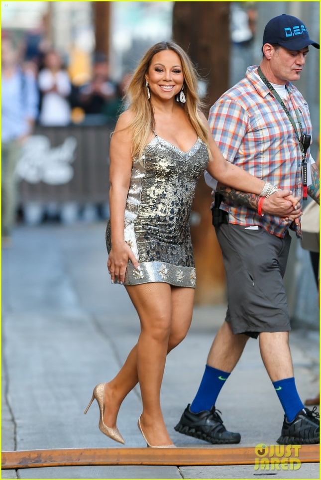 Mariah Carey performs on Jimmy Kimmel Live - Part 2 **USA ONLY**