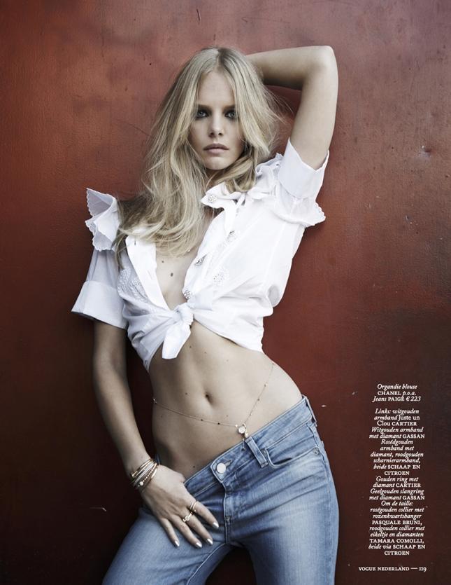 Марло Хорст для Vogue Нидерланды, июнь 2015