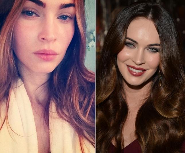 Меган Фокс и эксклюзивное фото без макияжа от самой актрисы, которая в то время осваивала Instagram, но по итогу так и не поняла его назначения наряду с Twitter
