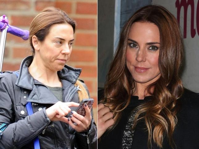 Мелани Чисхолм, также известная как Мел Си, отвела дочь Скарлетт в школу. Утром, да ещё и без макияжа, 41-летняя Мелани по понятным причинам выглядит не так гламурно, как обычно.
