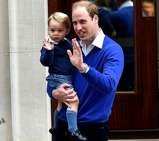 Принц Уилльям и принц Георг