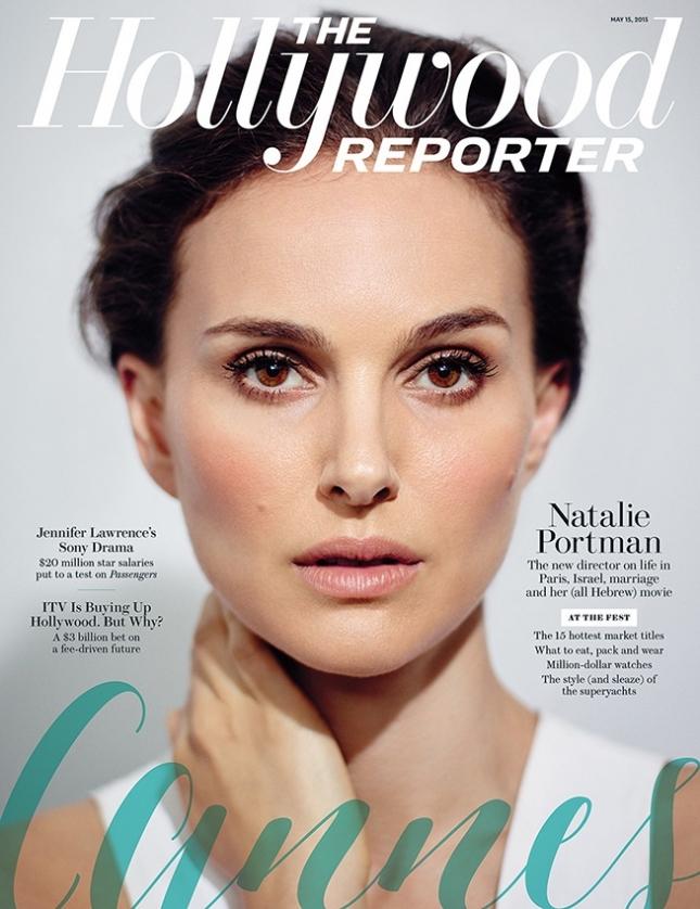 Натали Портман на обложке The Hollywood Reporter