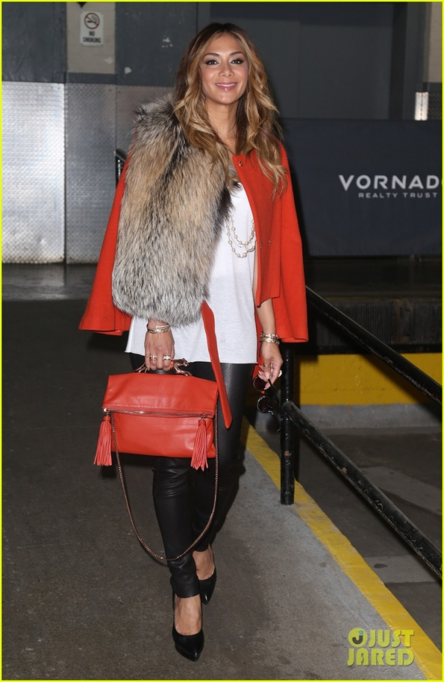 Nicole Scherzinger Steps Out In NYC