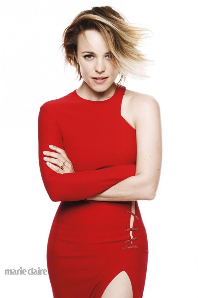 Рэйчел МакАдамс для Marie Claire US июнь 2015