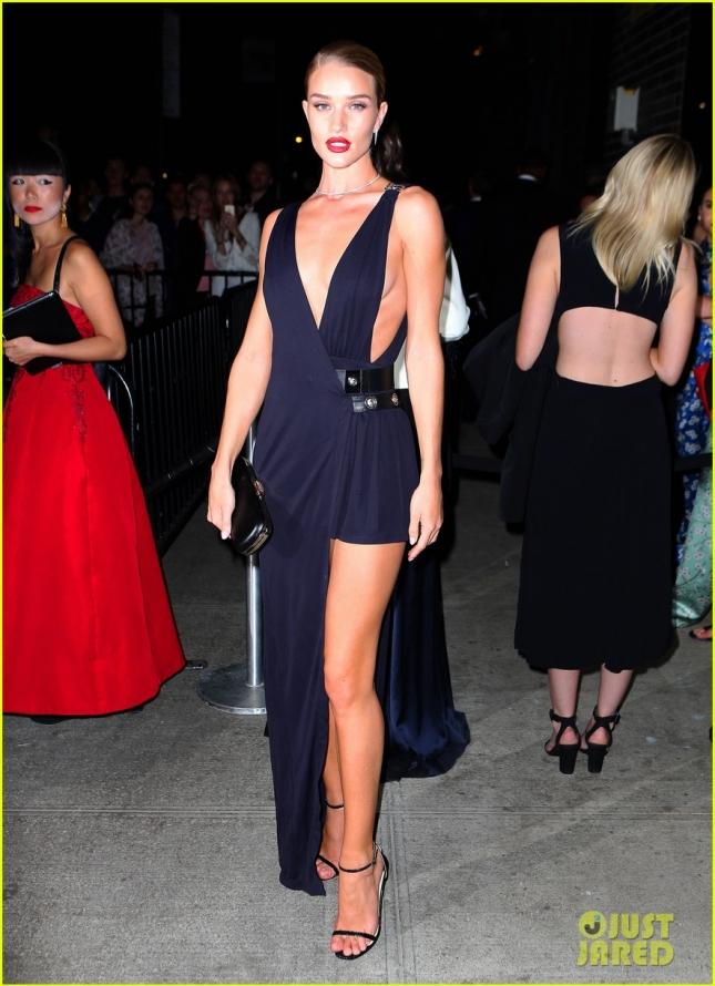 Рози Хантингтон-Уайтли на вечеринке Michael Kors и iTunes