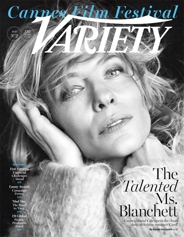Кейт Бланшетт на обложке Variety Magazine
