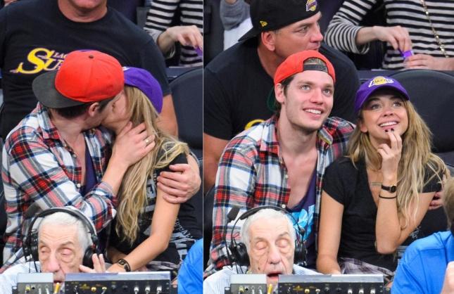 Доминик Шервуд поздравил Сару Хайленд с 8 марта, подарив билет на баскетбол и сладкий поцелуй