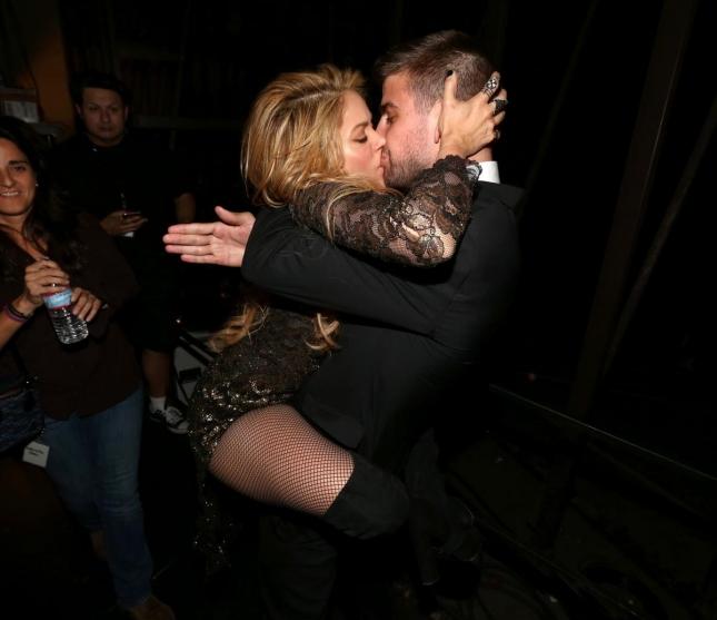 Шакира и Жерар Пике на Billboard Music Awards в мае прошлого года