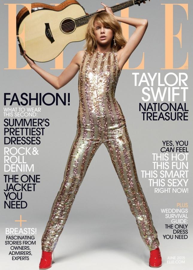 Тейлор Свифт на обложке Elle US, июнь 2015