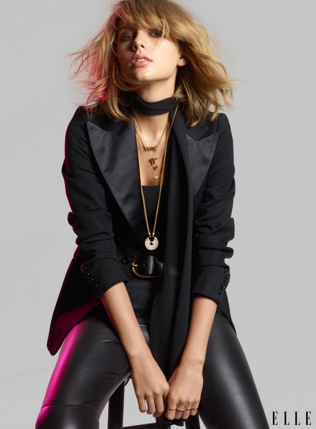 Тейлор Свифт для Elle US, июнь 2015