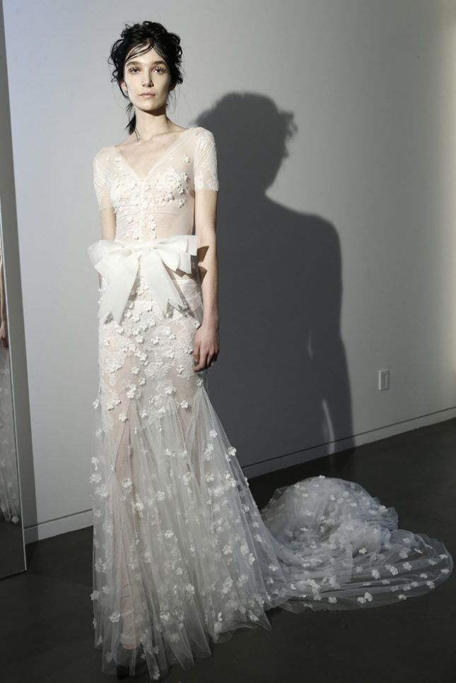 Свадебная коллекция Vera Wang  2016