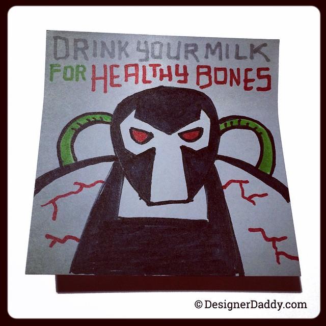 """""""Выпей молока, что бы потом у тебя были здоровые кости"""""""