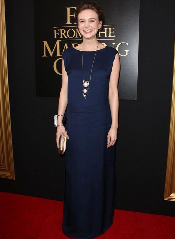 Кэри Маллиган, апрель 2015
