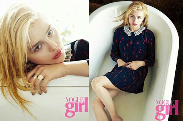 Хлоя Грейс Морец для Vogue Girl Корея, июль 2015