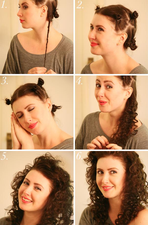 Как сделать красивую волосы на средние волосы