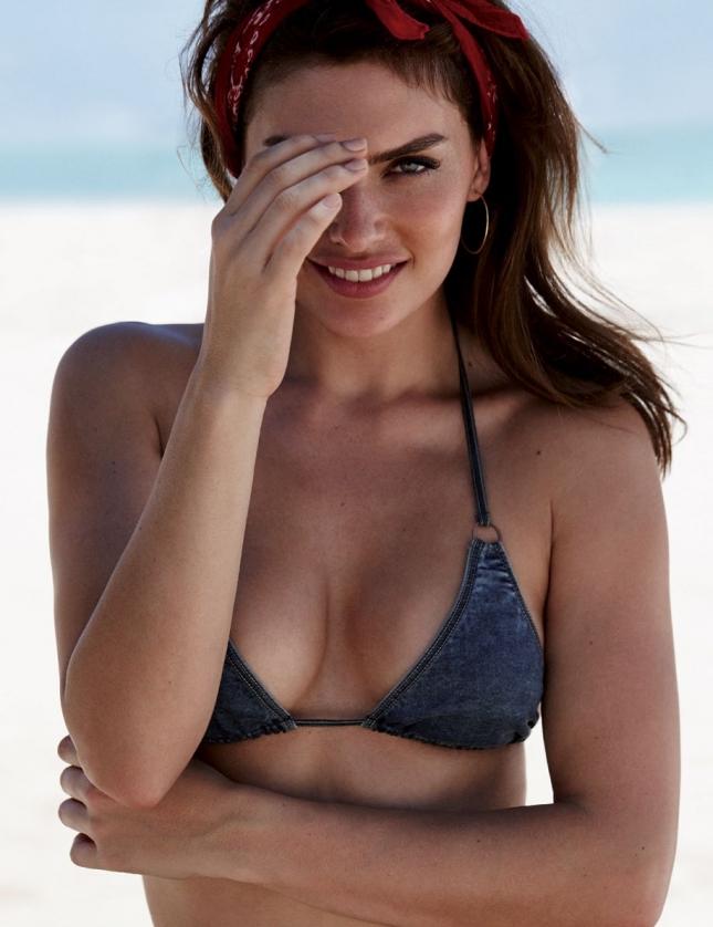 Алисса Миллер для Elle Испания, июль 2015