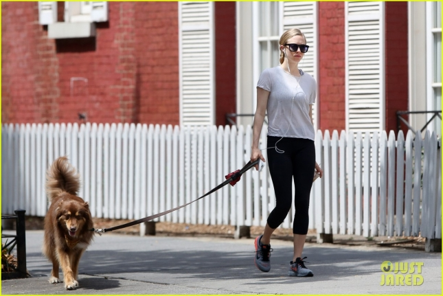 Amanda Seyfried takes Finn for a Day at the Park