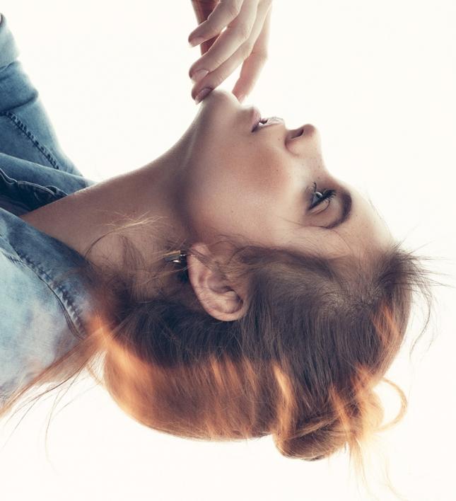 Барбара Палвин для Elle Швеция, июль 2015
