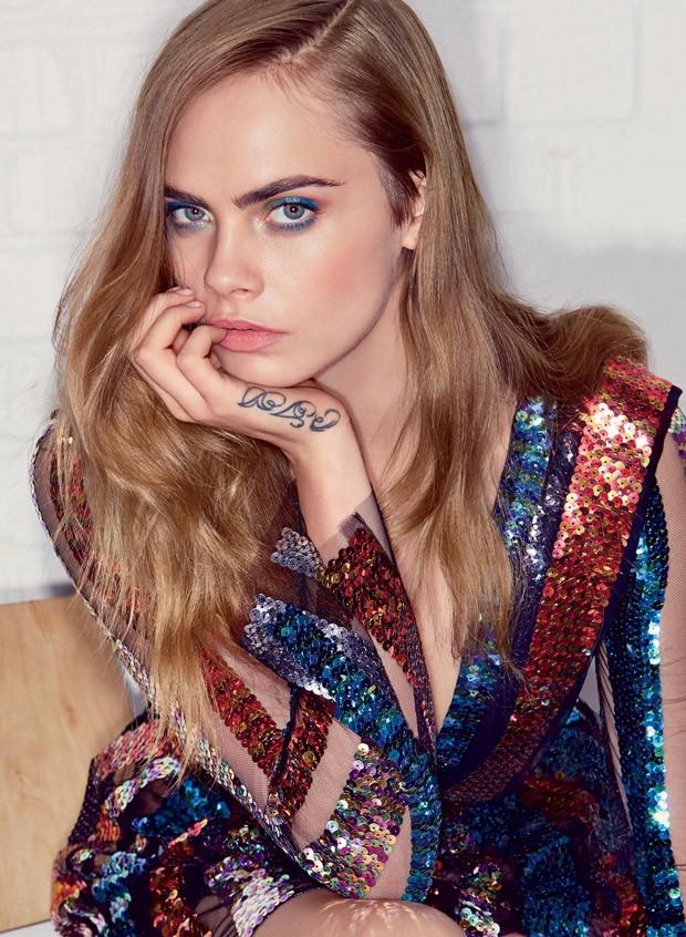 Кара Делевинь для Vogue США, июль 2015
