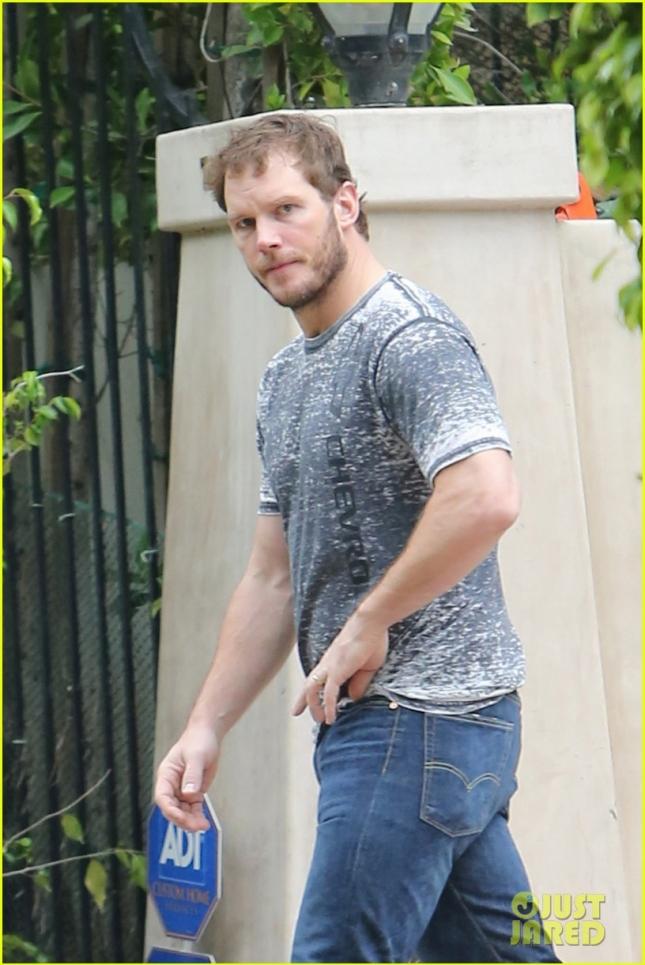 EXCLUSIVE: Chris Pratt wears his casual look as he heads to a meeting in LA