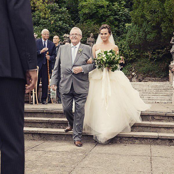 Крисси Тейген и ее папа