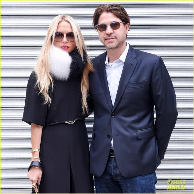 Рейчел Зое с мужем