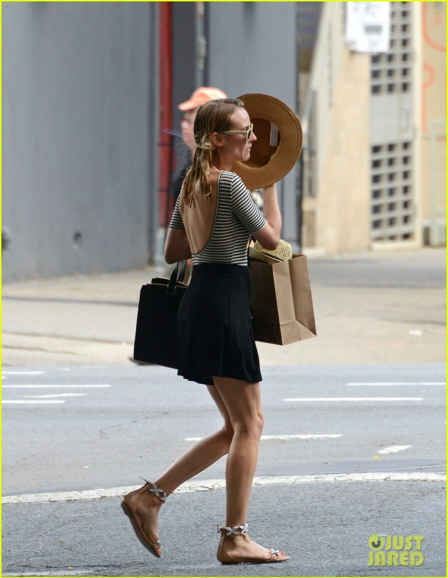 Diane Kruger seen out in NYC