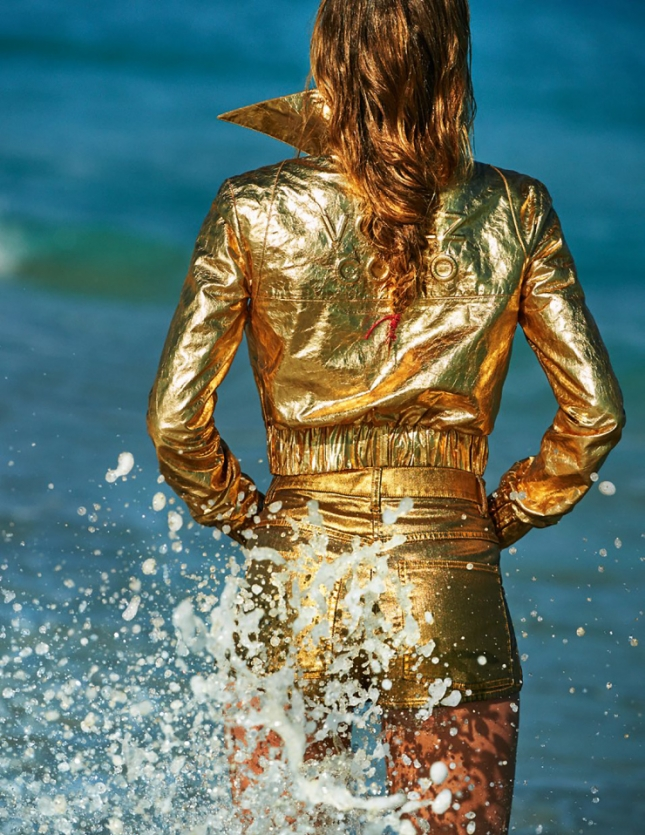 Даутцен Крез для Vogue Париж, июнь 2015