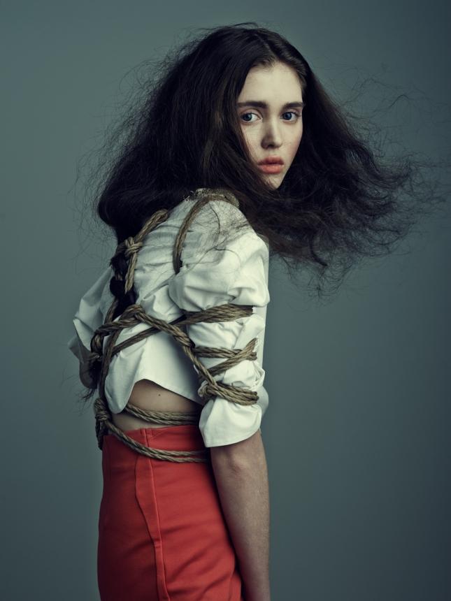 Алия Галяутдинова  для Schön! лето 2015