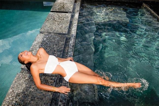 Шанель Иман для летнего C magazine