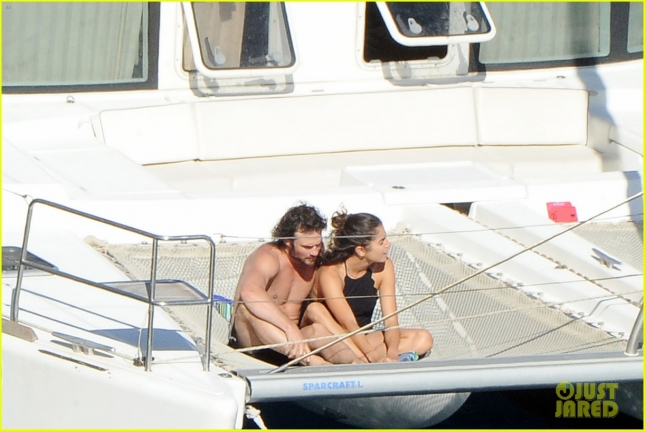 *EXCLUSIVE* **MUST CALL FOR PRICING** Nikki Reed and Ian Somerhalder vacation in the Amalfi Coast **USA ONLY**