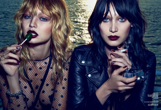 Джиджи и Белла Хадид для V Magazine